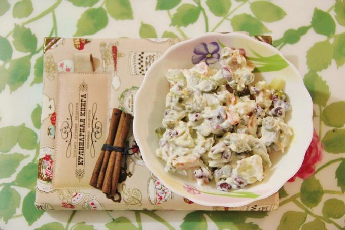 Традиционные блюда «по-вегетариански»: оливье ишуба