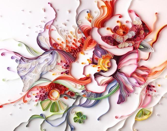 Квиллинг: как делаются цветы, открытки икартины втехнике бумагокручения (+ фото готовых шедевров!)