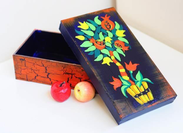 Роспись деревянной шкатулки своими руками