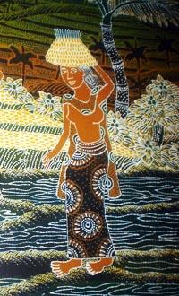 Учимся искусству «батик»
