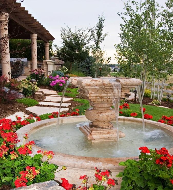 Декоративные фонтаны— простая икрасивая конструкция
