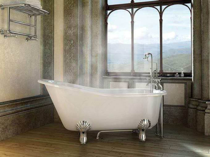 Какую ванну лучше выбрать: керамическую, стальную, акриловую, чугунную или джакузи
