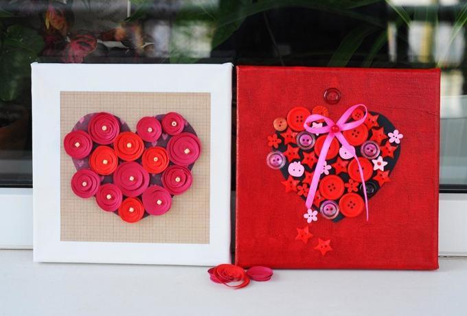 Коллаж-валентинка коДню всех влюбленных