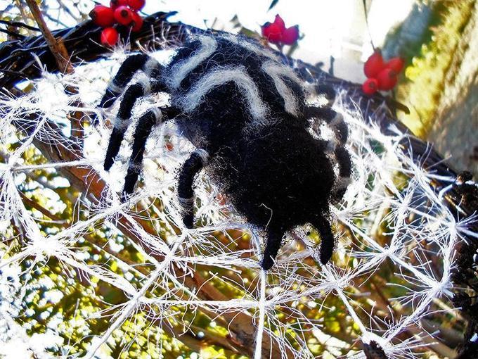 Декоративный венок кпразднику Хэллоуин своими руками