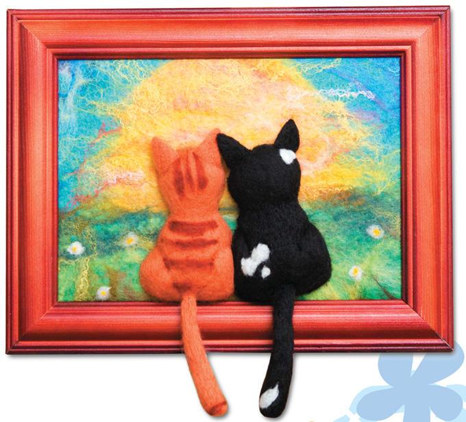 «Влюблённые коты» извойлока
