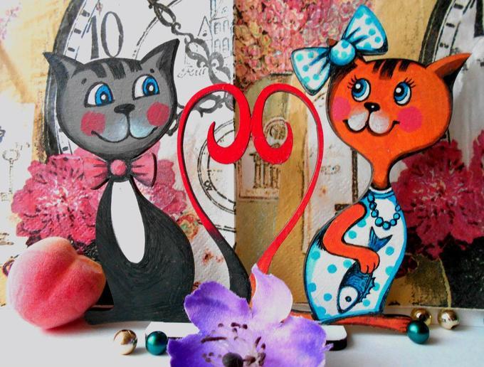 Роспись акрилом: подарок коДню святого Валентина своими руками