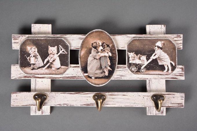 Вешалка для ключей встиле French Vintage. Мастер-класс подекупажу