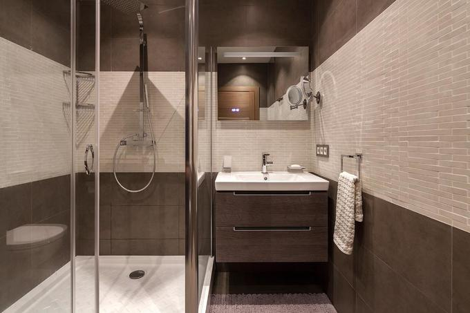 Лаконичный дизайн-проект квартиры вЖКМиракс Парк