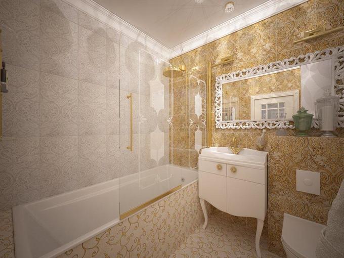 Как правильно оформить маленькую ванную
