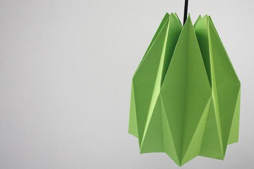 Как сделать сильный абажур втехнике оригами