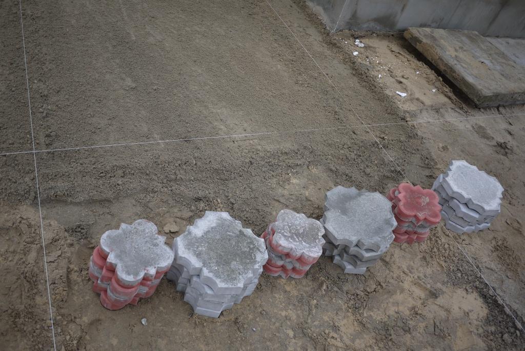 Сортировка тротуарной плитки