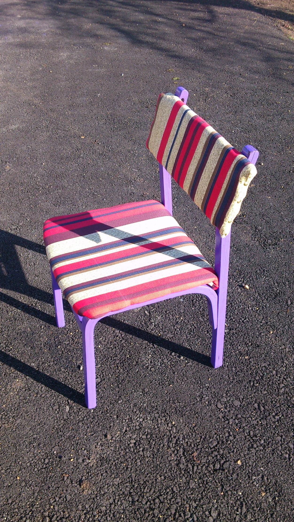 отреставрированный стул фото