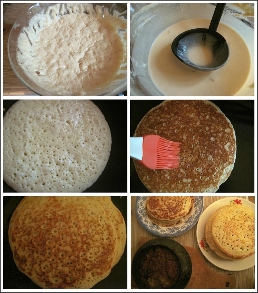 фото рецепт блины на кефире