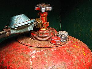 Вентиль газового баллона