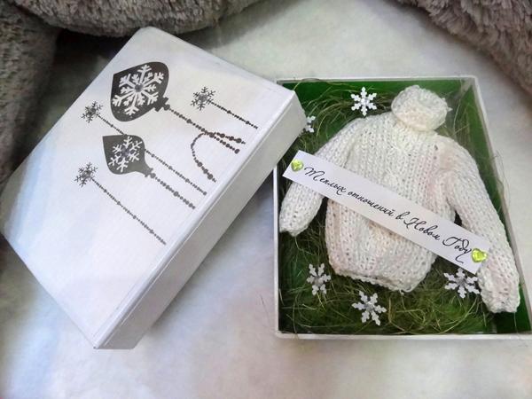 Подарок с шуточным пожеланием 17