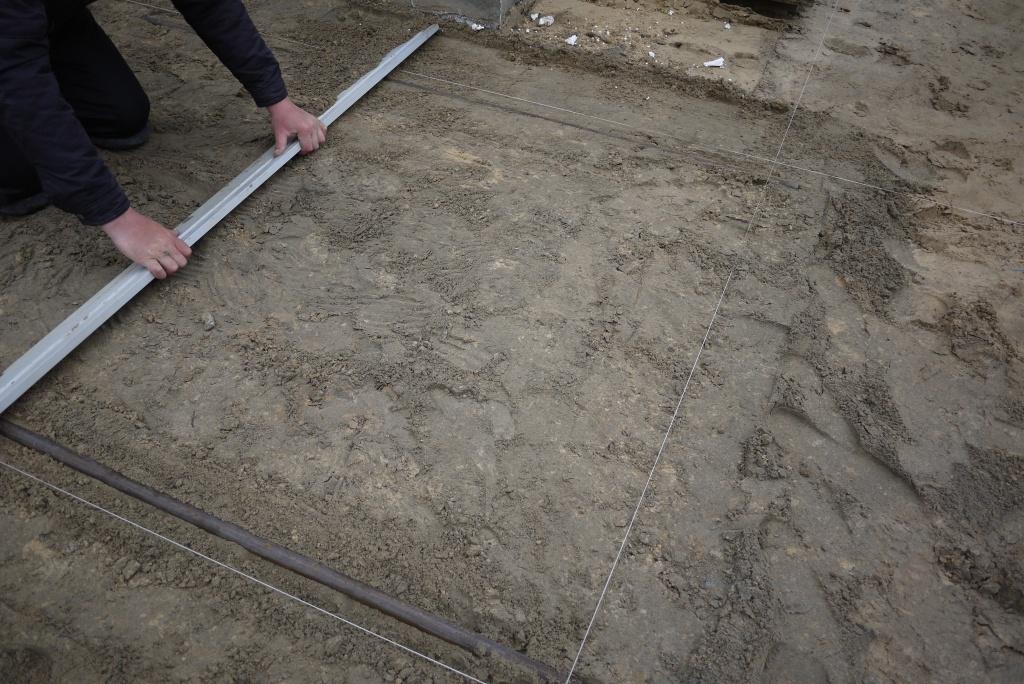 Подготовка поверхности для укладки плитки