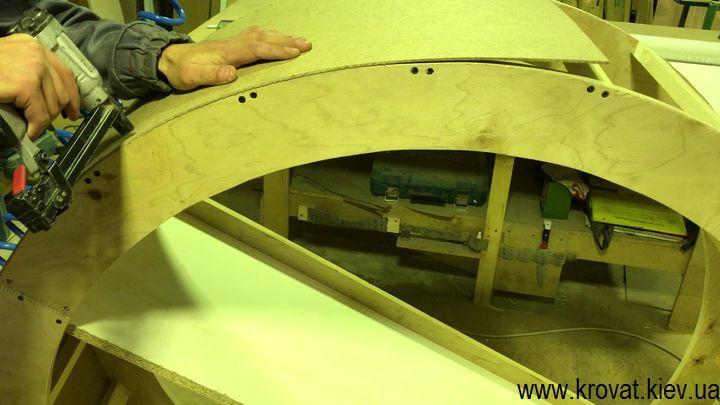 как сделать большой пуф с каретной стяжкой