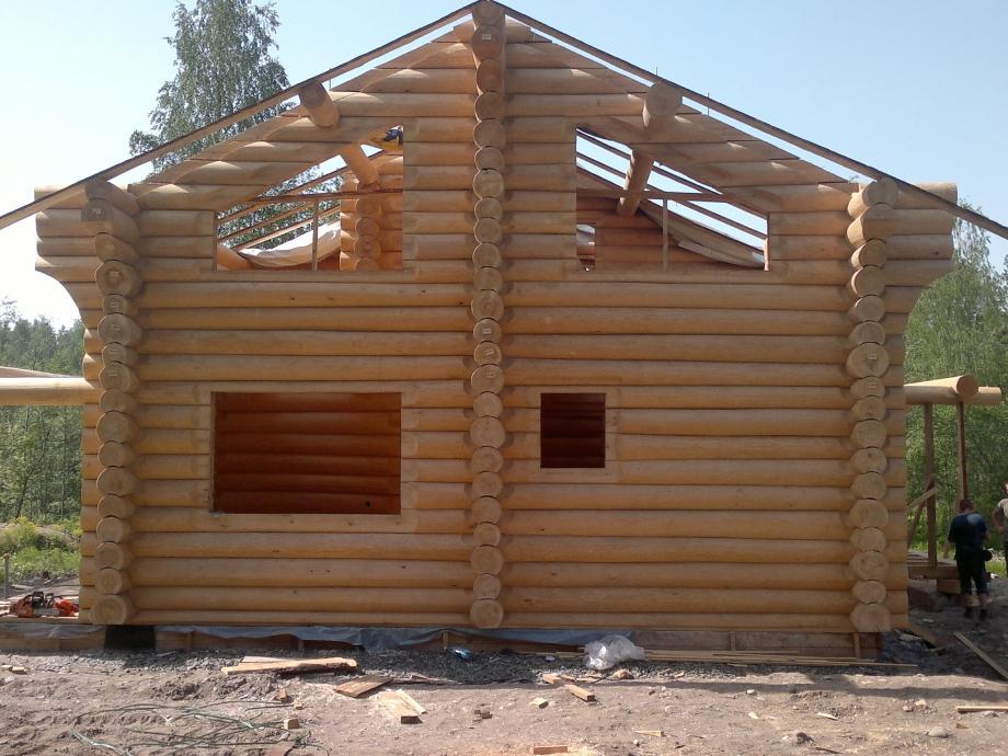 Современные бревенчатые дома