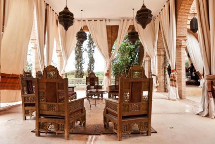 Марокканский стиль в интерьере