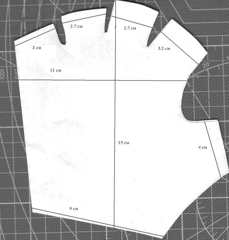 Сшить женские перчатки выкройка 13
