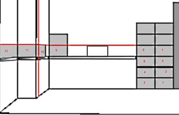 последовательность укладки плитки