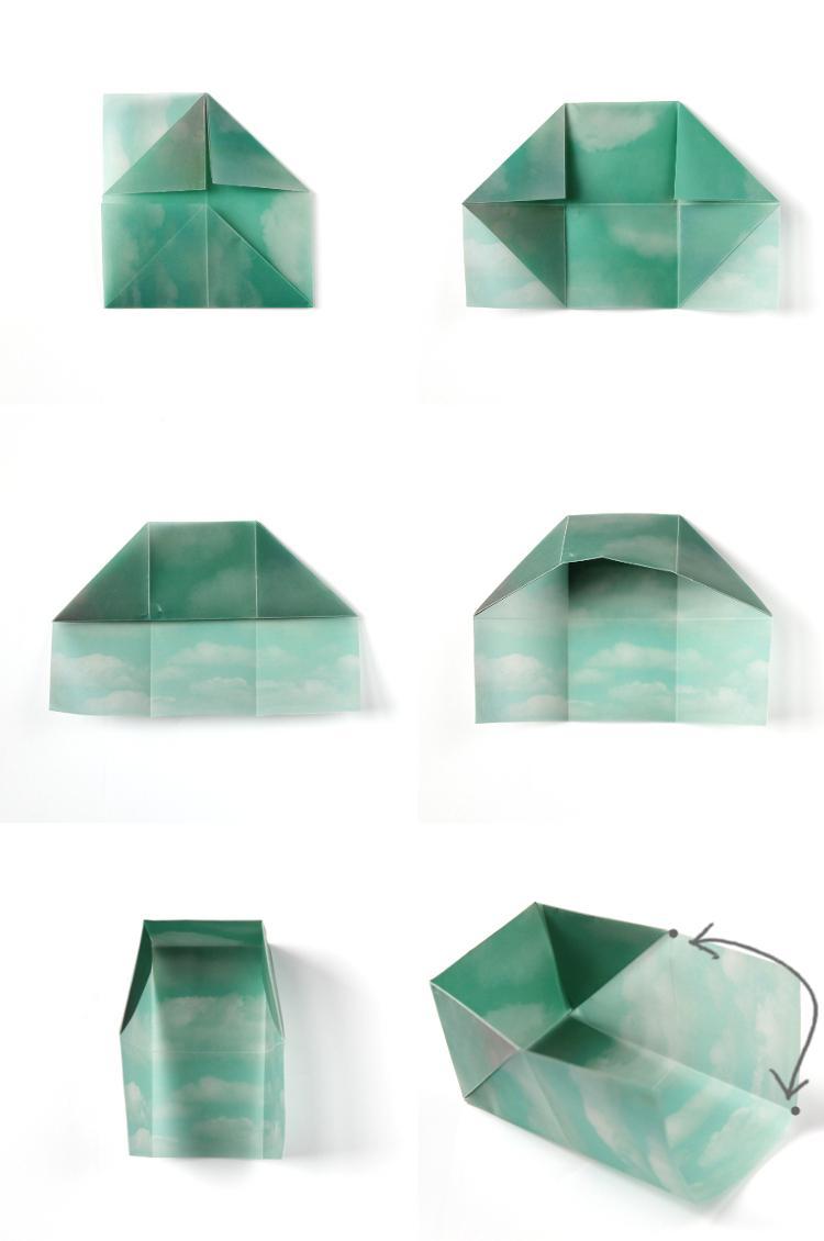 Как сделать органайзер для канцелярии втехнике оригами