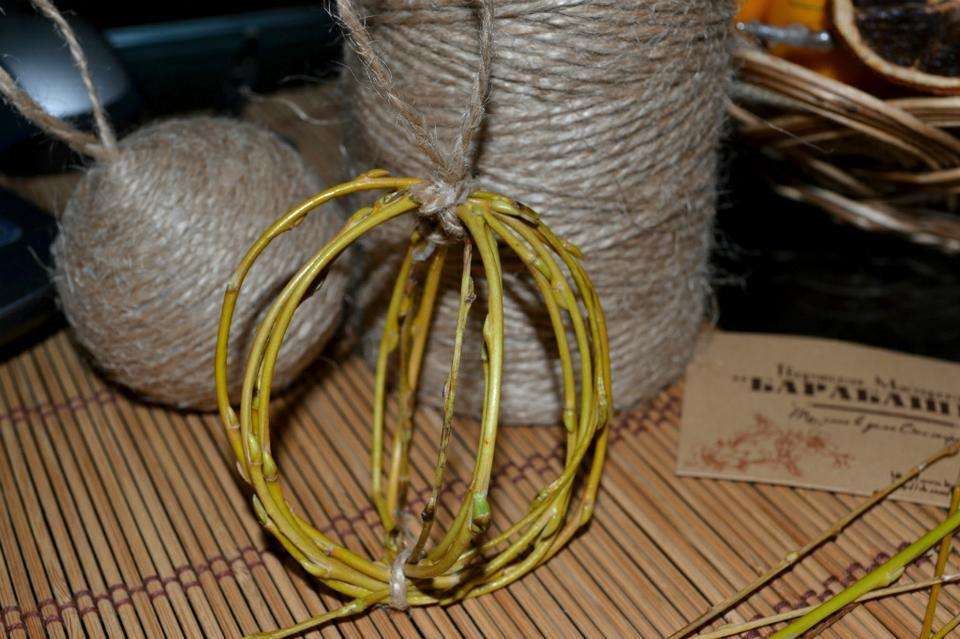 Как сделать из веревки ветку