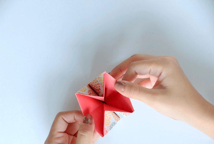 Кармашек оригами