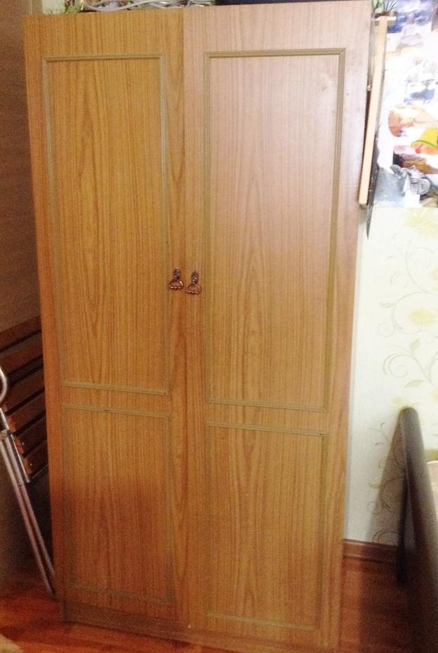 Декор советской мебели. Как задва дня получить эргономичный шкаф встиле прованс