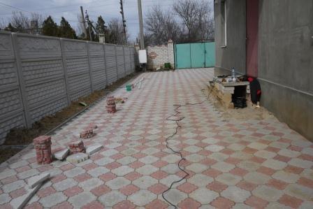 фото тротуарной плитки во дворе фото