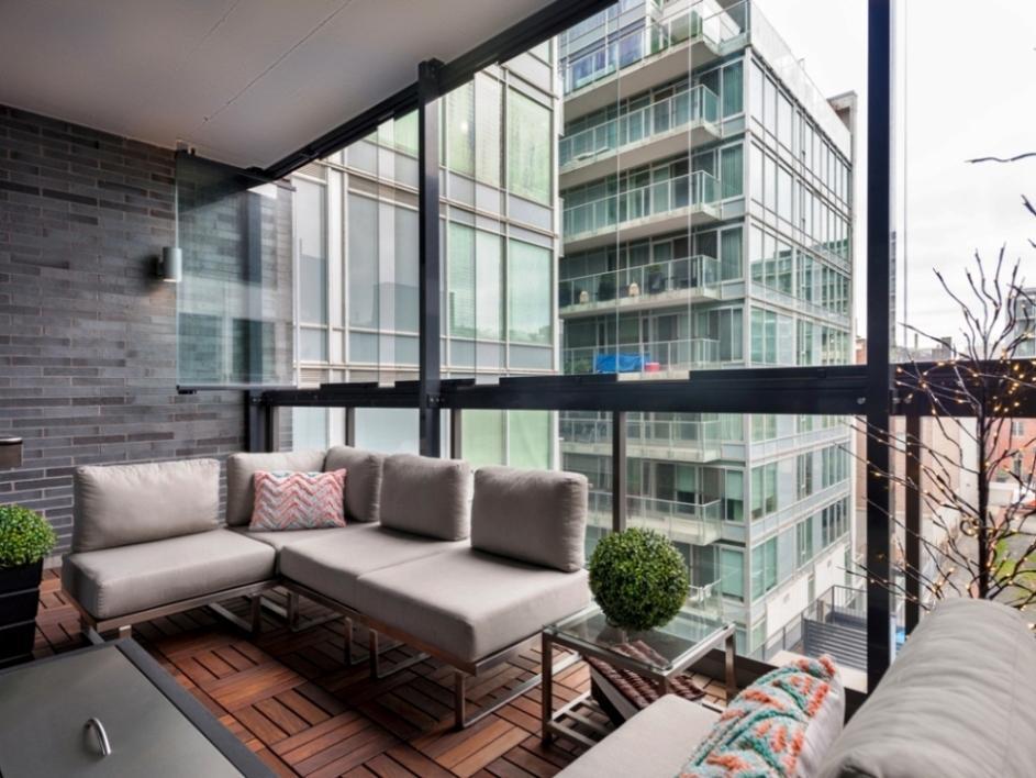 ОФисный балкон Lumon