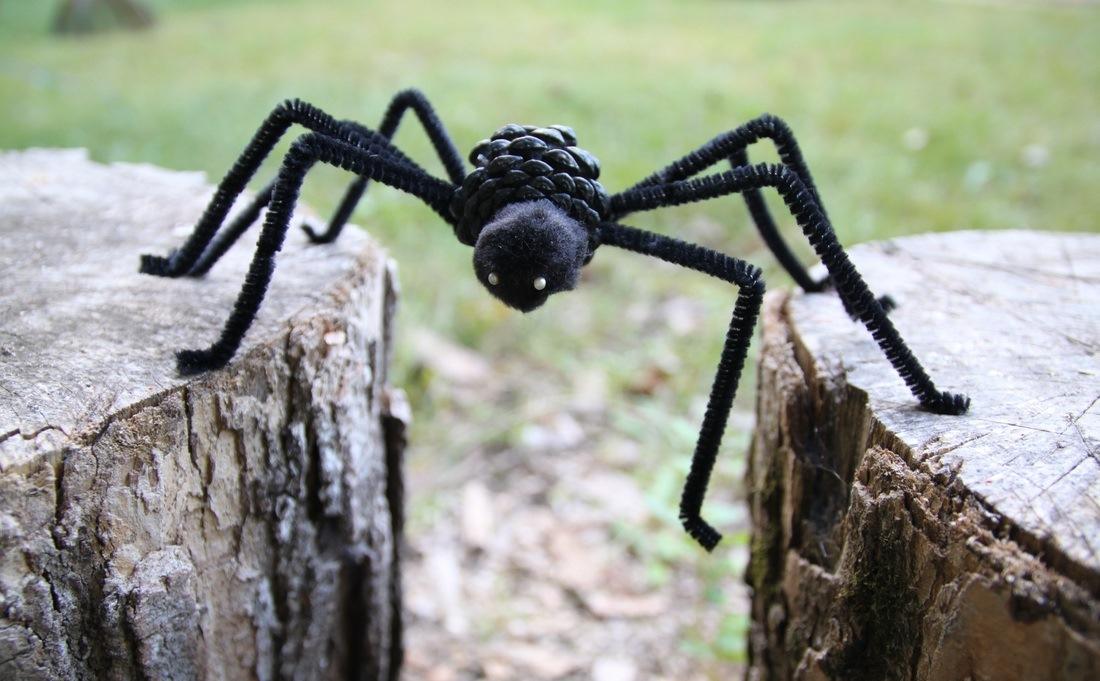 Как сделать милого паучка кХэллоуину