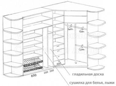 Шкаф-перегородка
