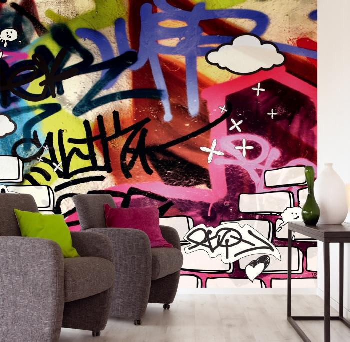 Рисунок граффити