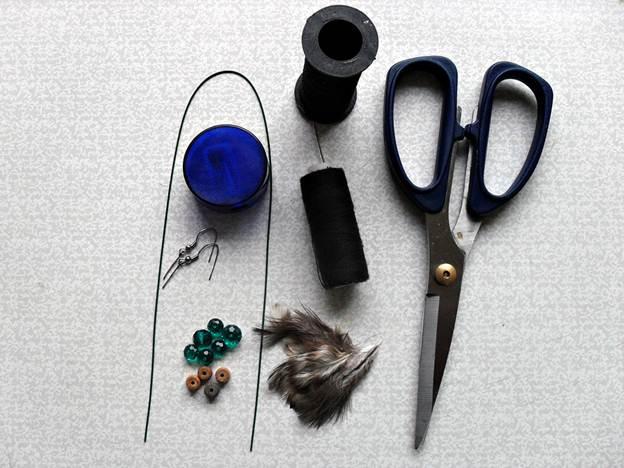 Изготовление сережек