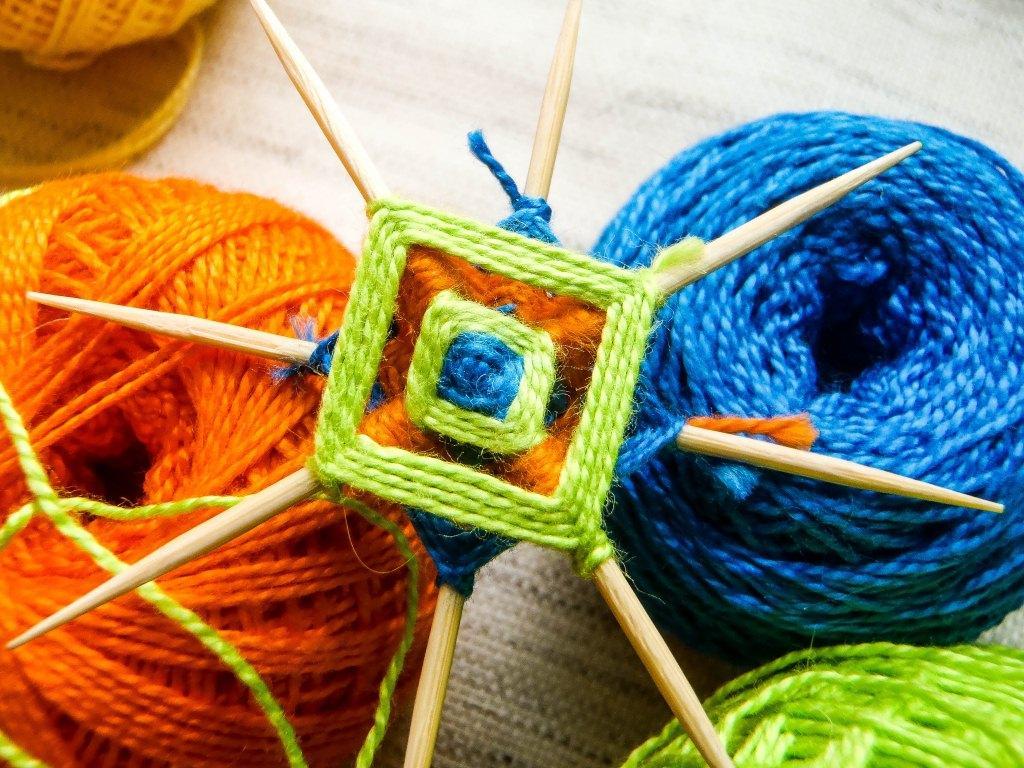 Плетем квадрат