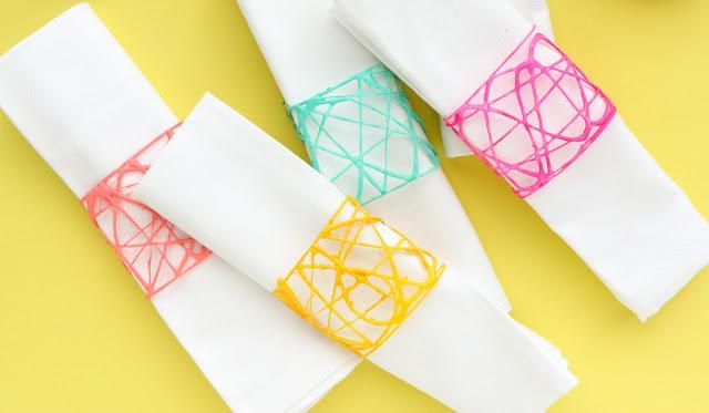 Как сделать кольца для салфеток своими руками