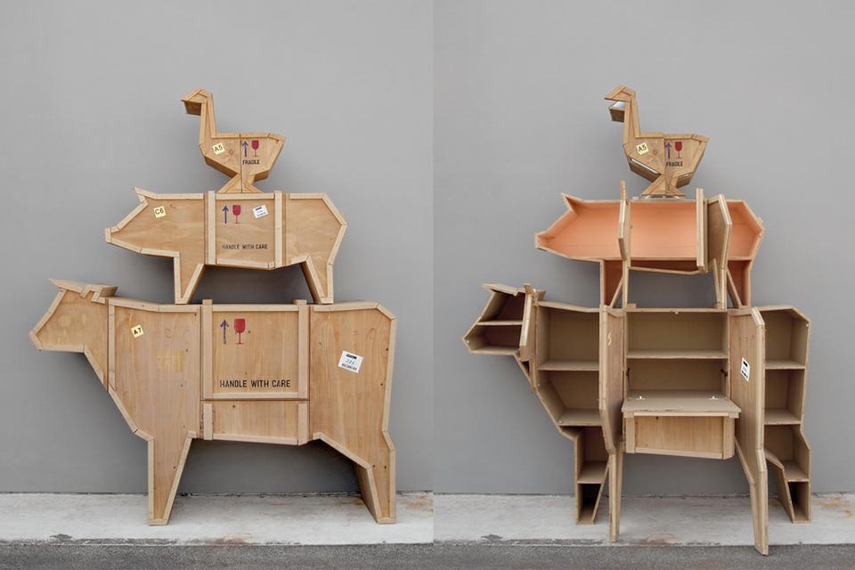 Мебель в форме животных