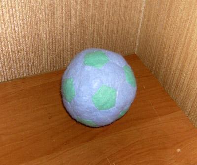схема футбольного мяча