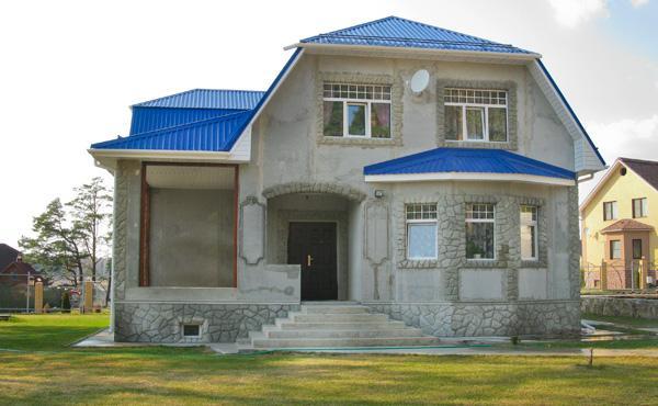 Строим дом изпеноблока