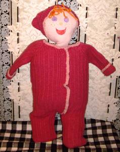 Кукла для хранения целлофановых