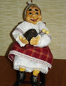 Интерьерная кукла своими руками