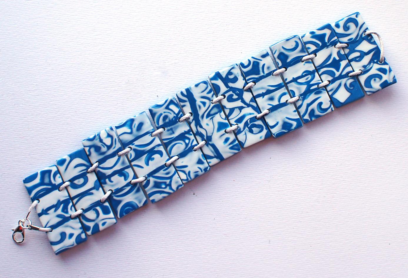 Полимерная глина браслет
