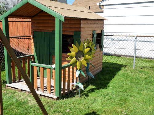 Постройки на даче для детей своими руками инструкция и фото постройки