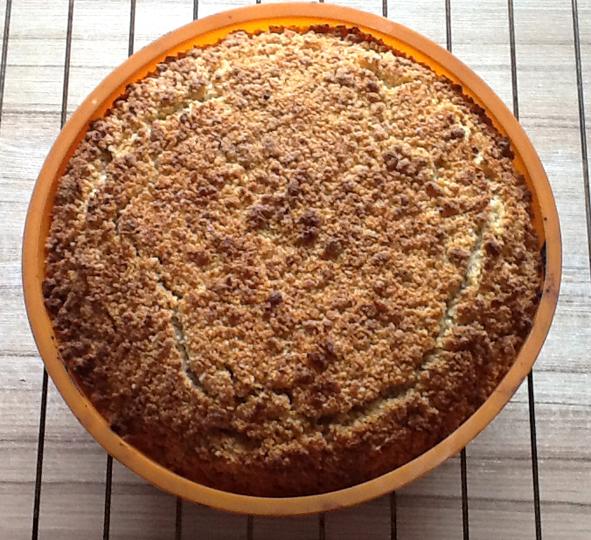 Пирог с ревенем фото