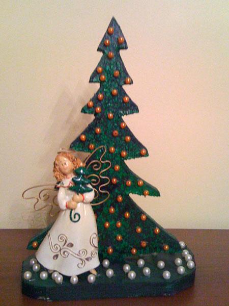 Рождественская игрушка на елку своими руками