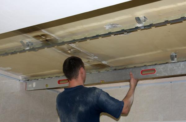 Алюминиевый подвесной потолок своими руками 984
