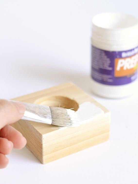 Как сделать подсвечник для коротких свечей своими руками