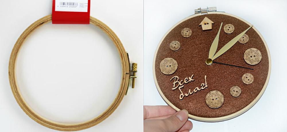 Как сделать настольные часы своими руками в домашних условиях