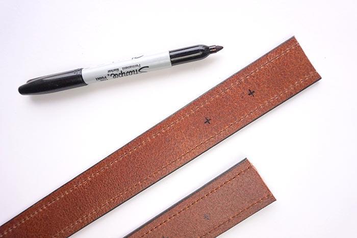 Разметка маркером